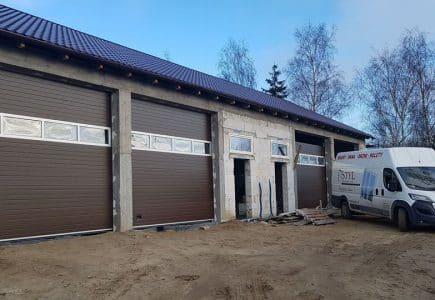 Solidne bramy garażowe zamontowane w Gdańsku 👍