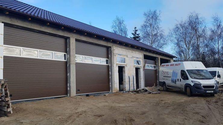 solidne bramy garażowe